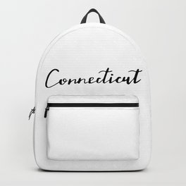 Connecticut (CT; Conn.) Backpack