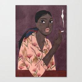 I'll be here Canvas Print
