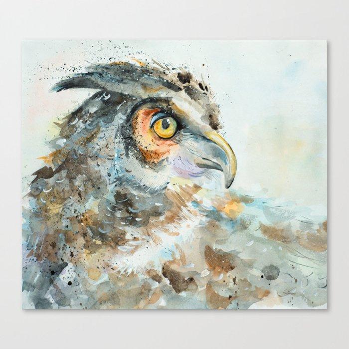 Predatory bird Canvas Print