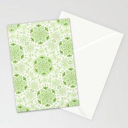 Mandala_Green Stationery Cards