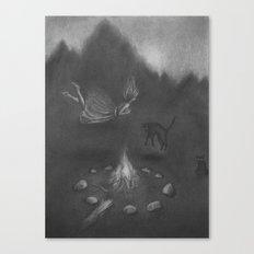 Familiar Fire Canvas Print