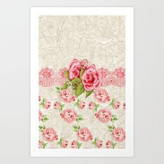 Cover Flower Art Print