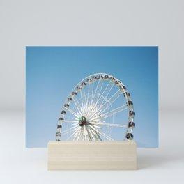 fun wheel of the valley Mini Art Print