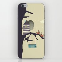 home sweet home iPhone & iPod Skins featuring home sweet home by bri.buckley