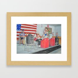 The Clefs Framed Art Print