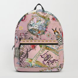 Pink Rabbit tattoo love matrix Backpack