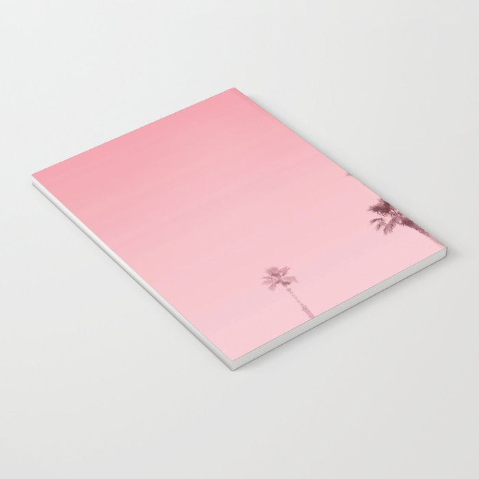 Tranquillity - flamingo pink Notebook