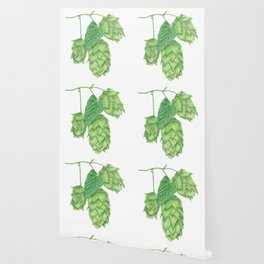Beer Hop Flowers Wallpaper