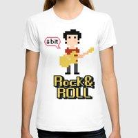 8bit T-shirts featuring 8bit by ulas okuyucu