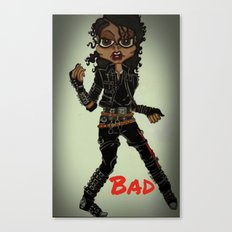 Bad Canvas Print