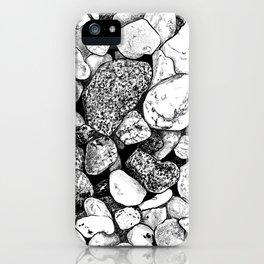 #inktober2016:rock iPhone Case