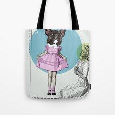 Pretty Chauncey Princess - French Bulldog Tote Bag