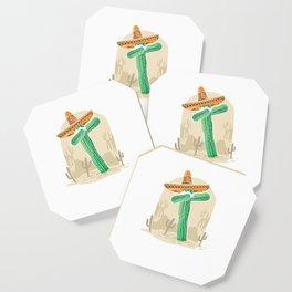 Cinco De Mayo Cactus Dab Funny Mexican Food Tacos Nacho Lovers Gift Coaster