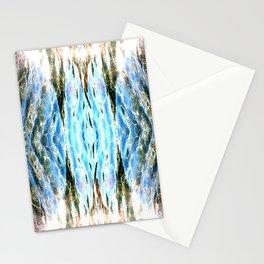 Shining liquid Stationery Cards