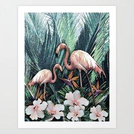 Jungle Shade Art Print