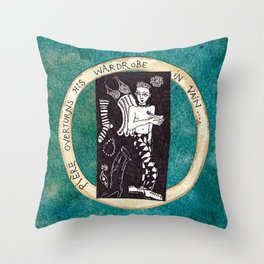 Ontological Box - Pierre Throw Pillow
