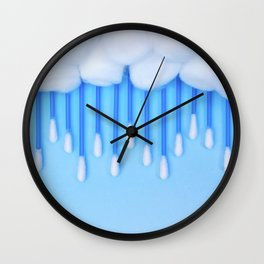 CLOUD COTTON Wall Clock