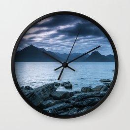 The Dark Cuillin II Wall Clock