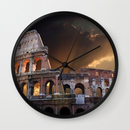 The Coliseum of Ancient Rome Wall Clock