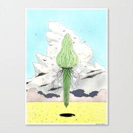 Méduse volante #2 Canvas Print