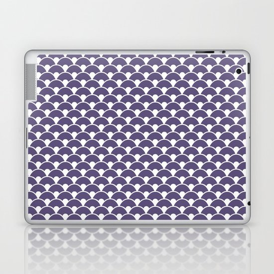 Dragon Scales Deep purple Laptop & iPad Skin