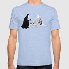 The Seventh Seal Mens Fitted Tee Tri-Blue SMALL