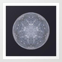 Snow Moon Art Print