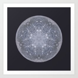 Snow Moon Art Print