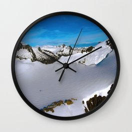 Above Juneau Wall Clock