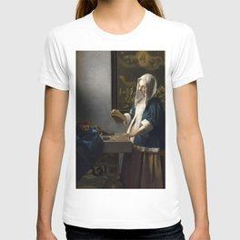 """Johannes Vermeer """"Woman Holding a Balance"""" T-shirt"""