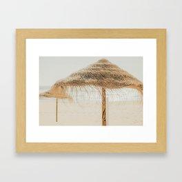 beach dreams III Framed Art Print