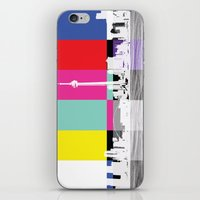 toronto iPhone & iPod Skins featuring Toronto by Shazia Ahmad