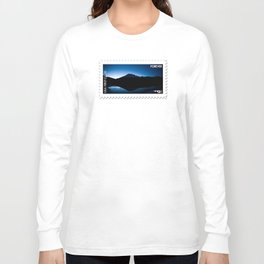 Mt Rainier @ Sunset Long Sleeve T-shirt
