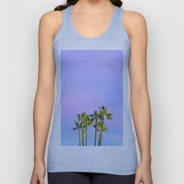 Summer Dreams with Palms Unisex Tank Top