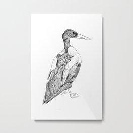 NIGEL Metal Print