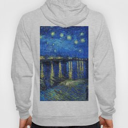 Starry Night Over the Rhone by Vincent van Gogh Hoody