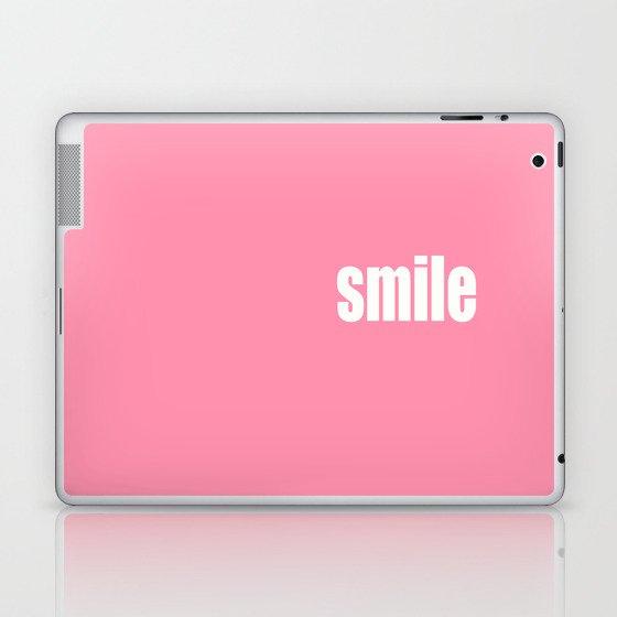 Smile with Baker-Miller Pink Color Laptop & iPad Skin
