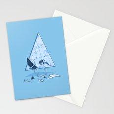 Bermuda triangle Stationery Cards