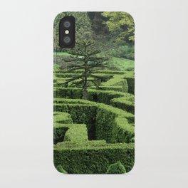 Garden Maze iPhone Case