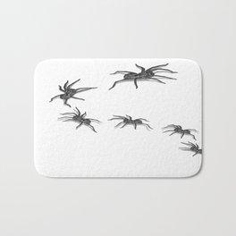 Wolf Spiders Bath Mat