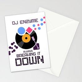 DJ Enzyme - Always Breaking It Down Stationery Cards
