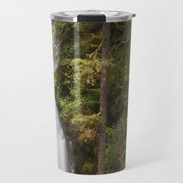 Curly Falls, Washington Travel Mug