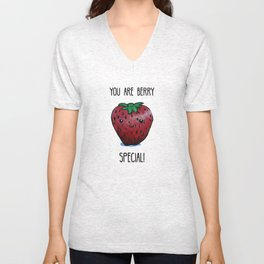 You Are Berry Special Unisex V-Neck