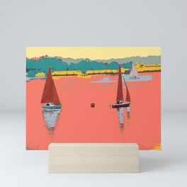 Red Sails Yachts Mini Art Print