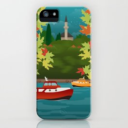 Ioannina, The Lake & The Mosque at the Castle (GR) iPhone Case
