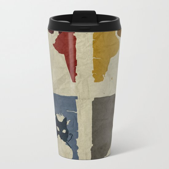 Bioshock - Citizens of Rapture Metal Travel Mug