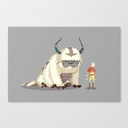 Pixel Avatar Canvas Print