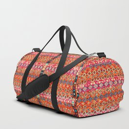 Bohemian Traditional Tropical Moroccan Style Illustration Duffle Bag