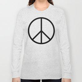 CND Peace Symbol Long Sleeve T-shirt
