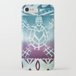 Tribal Sea Turtle iPhone Case